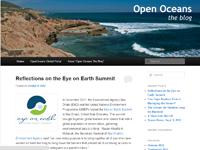 Ocean Blog Screen Shot